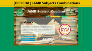 JAMB 2018 And Beyond Subject Combinations