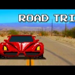 8-BIT ROAD TRIP!!! (Don't Text and Drive PSA)