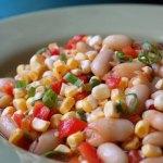 BBQ Corn & Bean Succotash Salad – Great Summer Salad!