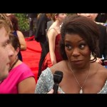 Celebrities Show Off Bizarre Emmy Reactions on the Red Carpet