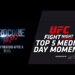 Fight Night Zagreb: Top 5 Media Day Moments