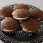 Gingerbread Whoopie Pies — Gingerbread Cookies Stuffed with Cream Cheese Filling