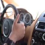 Hasan Kutbi Testing Aston Martin Rapide Jeddah 17
