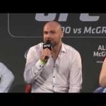 UFC 189: World Tour Press Conference – Dublin Part 2