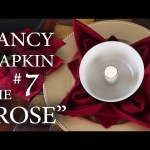 "Fancy Napkin #7 – The ""Rose"""