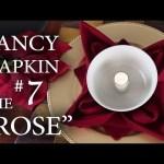 "Fancy Napkin #7 – The ""Rose"""
