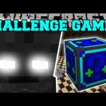 Minecraft: WITHER SKELETON TITAN CHALLENGE GAMES – Lucky Block Mod – Modded Mini-Game