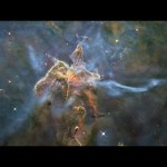 Mystic Mountain: Bright Pillar in the Carina Nebula