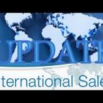 Update on International Sales