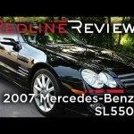 2007 Mercedes-Benz SL550 Review, Walkaround, Exhaust & Test Drive