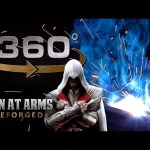 Welding The Sword of Altair in 360° – Assassin's Creed – MAN AT ARMS: REFORGED
