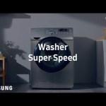 Samsung AddWash™ : Super Speed