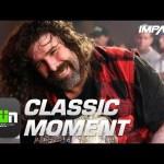 Mick Foley's VICIOUS Elbow Off The Penalty Box (TNA Slammiversary 2009) | Classic IMPACT Moments
