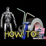 How To Make Your Own T-800 Terminator Action Figure!! – Homemade How-to!