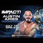 IMPACT Wrestling Teleconference with Austin Aries