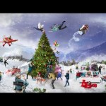 Holiday Card – Speed art (#Photoshop) | CreativeStation Exclusive GM