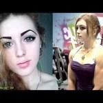 فتاة روسية جميلة  | وجه ملاك وجسد مصارع !!
