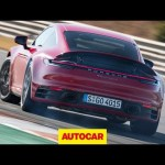 New Porsche 911 driven   2020 Porsche 992 tested on track and road   Autocar