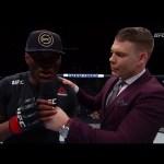 Fight Night St. Louis: Kamaru Usman Octagon Interview