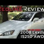 2008 Lexus IS250 AWD Walkaround, Exhaust, Review, Test Drive