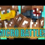 Minecraft – MICRO BATTLES!  W/AshDubh