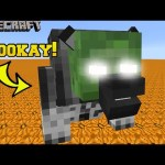 Minecraft: HALLOWEEN (COSTUMES, MOBS, & TRICK OR TREATING!) Mod Showcase