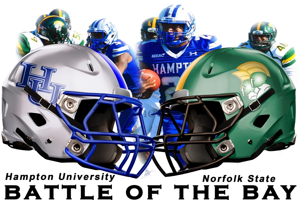 Image result for battle of the bay, hampton vs norfolk state