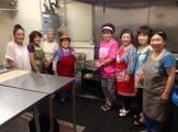 Volunteers cooking saataa andaagii for El Marino Language School's Kodomo no Hi event! Photographed by Joseph Kamiya.