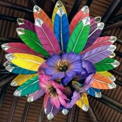 Chandelier flower