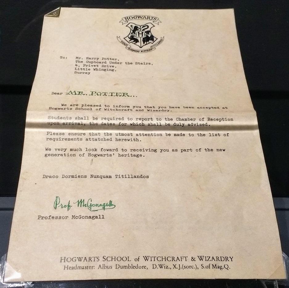 Harry's Hogwarts Letter