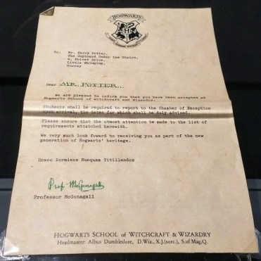 Harry's Hogwarts Letter