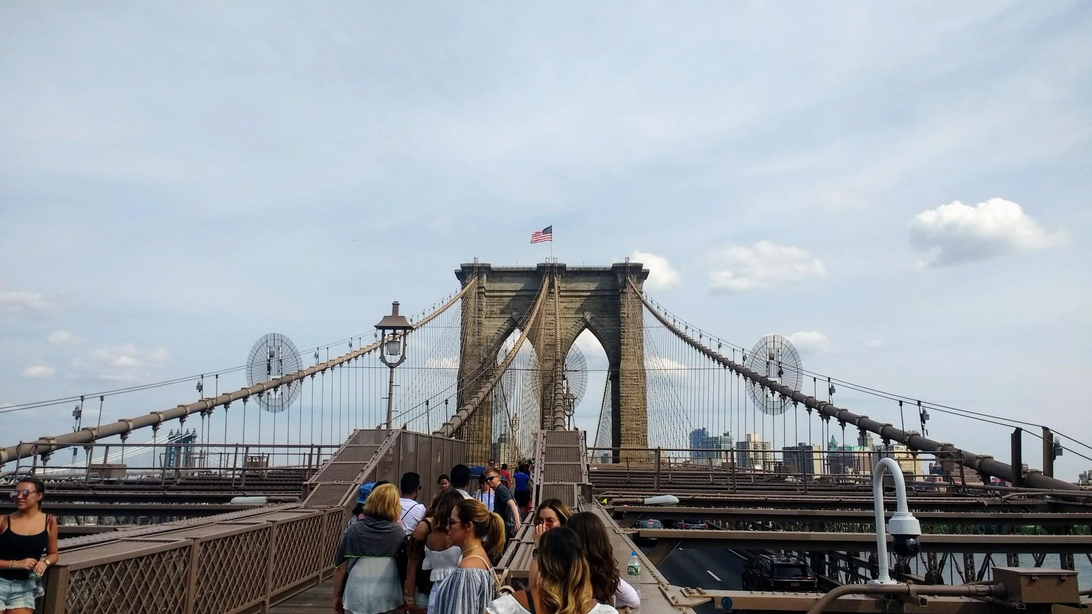 Brooklyn Bridge Top View