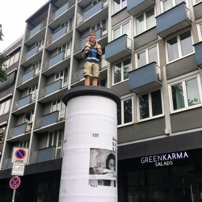 art museum advertisement dusseldorf