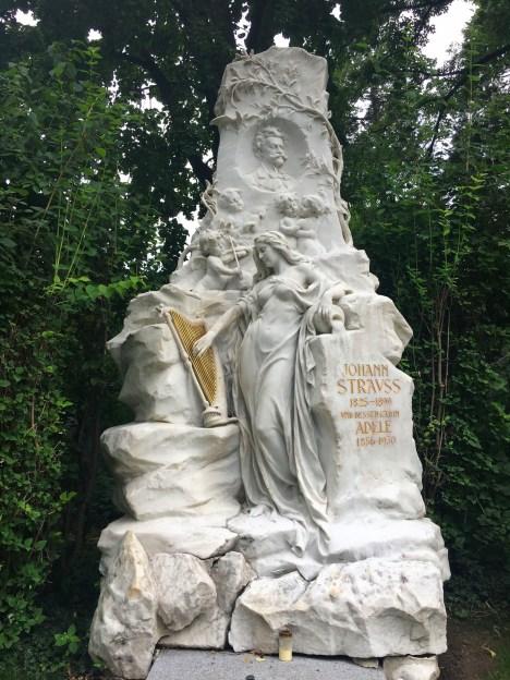 Strauss grave