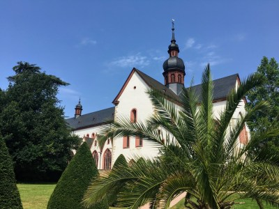 Eberbach Abbey Rhine Germany