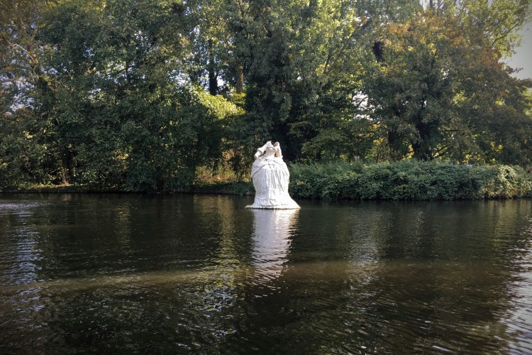 Westerpark floating statue