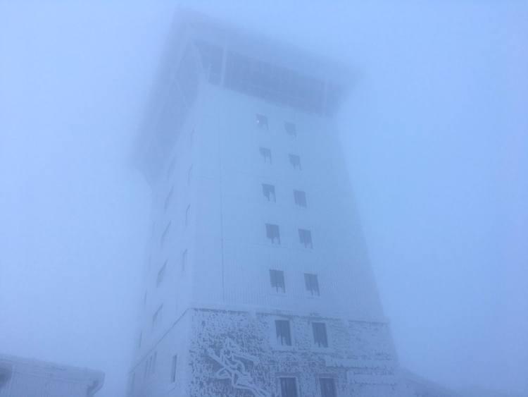 Brocken peak tower