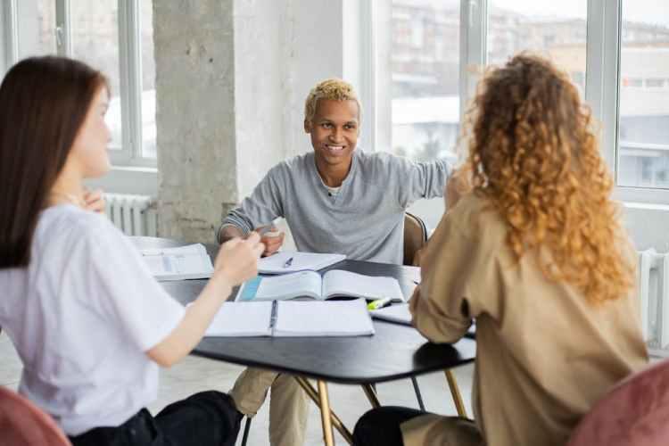 learn German classroom