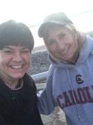 Deb and I at the start!