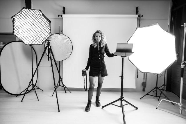 Kook en foto studio