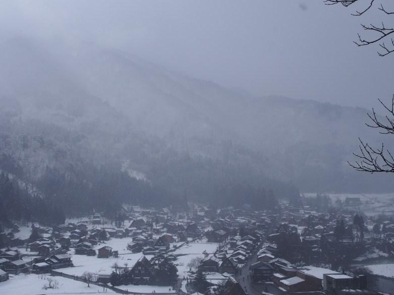 Shirakawago Snow