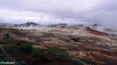 บ่อโคลน Gunnuhver mud pool