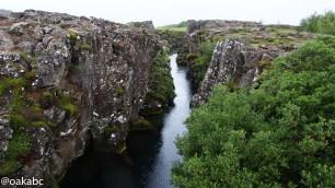 ทวีปอเมริกาและยุโรปแยกออกจากกันบริเวณนี้ที่ Thingvellir