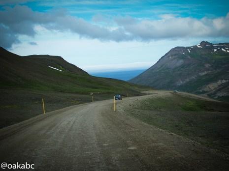 ทางไปเมือง Borgarfjörður Eystr