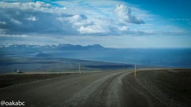 ทางกลับไป Egilsstaðir จาก ทางไปเมือง Borgarfjörður Eystr