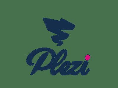 Logo sur fond transparent de la solution SAAS Plezi