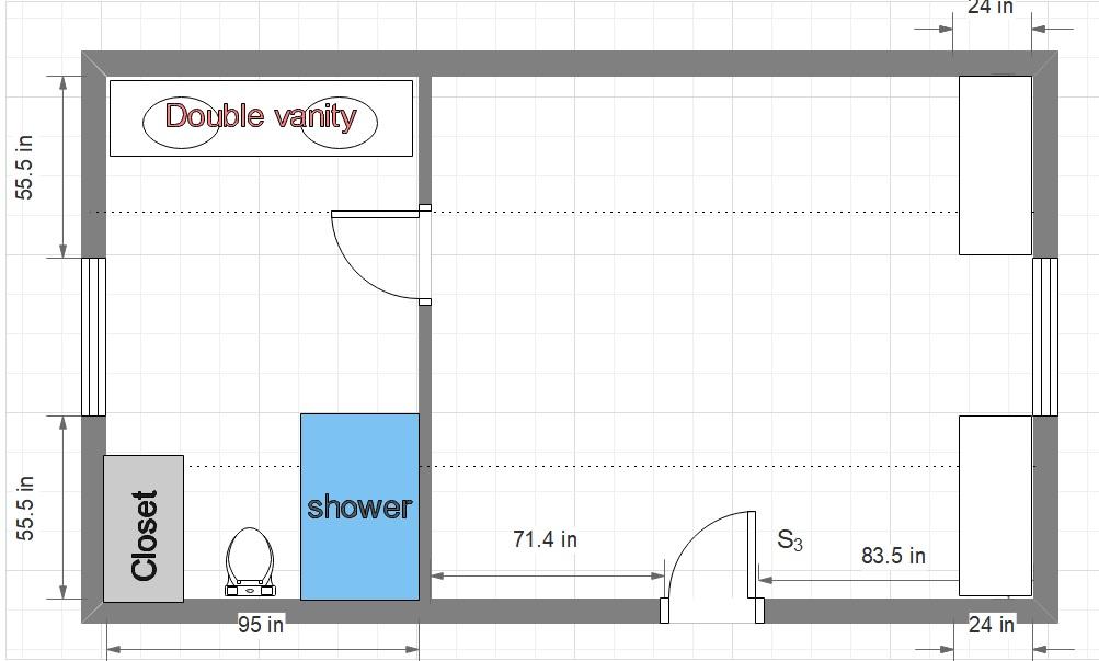 Attic Master Suite Floor Plan For Long Room