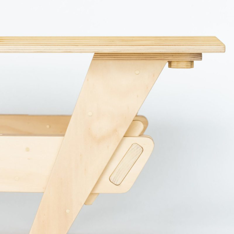 Oak & Hide Sustainable Timber Coffee Table