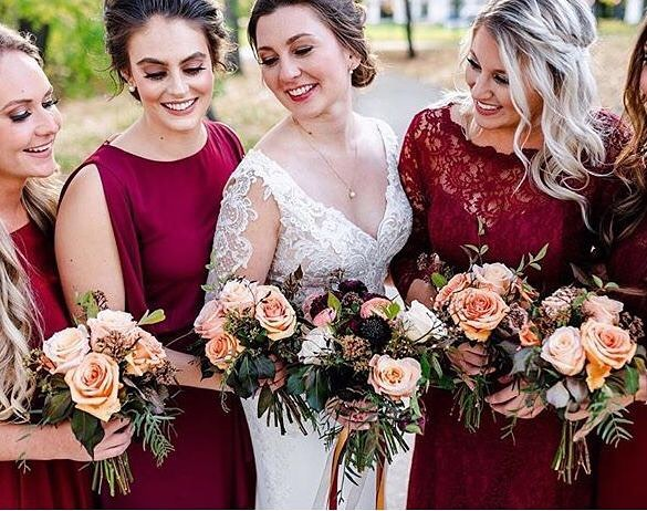 Cant wait to see more from this beautiful fall weddinghellip