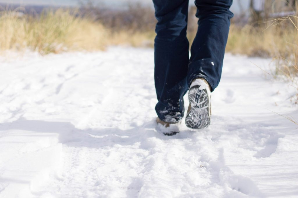 Stay warm while hiking in the winter! Don't let the snow keep you in!